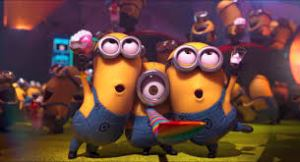minions celebrate